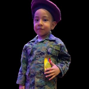 Carlos Emílio Salazar, 5 años